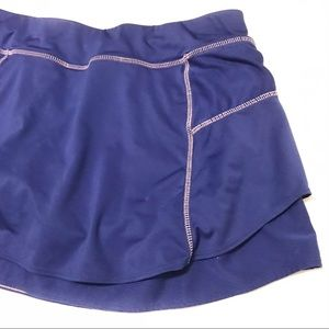 Athleta Royal Blue Tennis Skirt/Skort Sz M